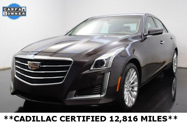 2015 Cadillac CTS Sedan 2.0L Turbo I4 AWD Luxury - 1G6AX5SX3F0115002