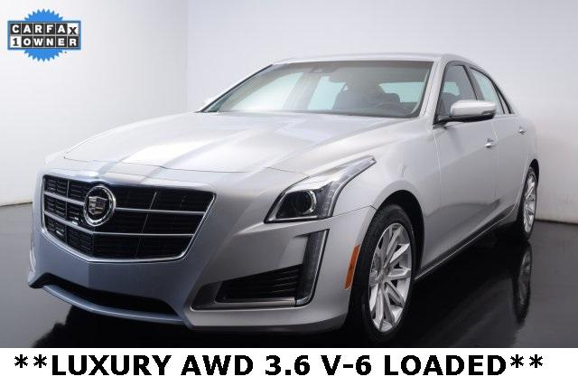 2014 Cadillac CTS Sedan 3.6L V6 AWD Luxury - 1G6AX5S39E0128025