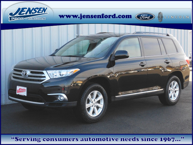 2011 Toyota Highlander Base - 5TDBK3EH8BS075595