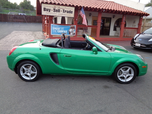 2000 Toyota MR2 Spyder Convertible One Owner Super Low Miles 84K Must See - JTDFR3200Y0012613