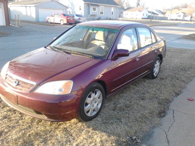 2002 Honda Civic EX Sedan - 1HGES267X2L019450