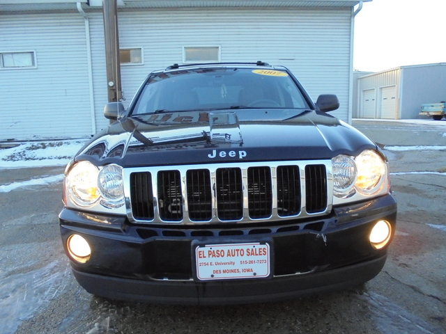 2007 Jeep Grand Cherokee Limited - 1J8HR58P37C536322
