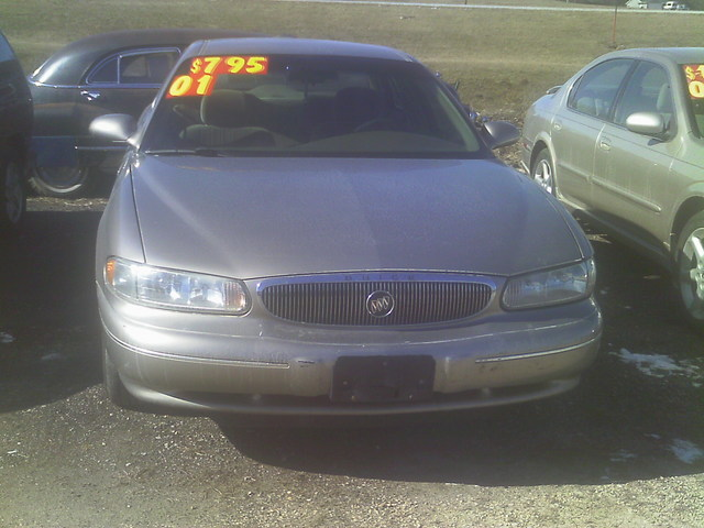 2001 Buick Century 4d 6cyl - 2G4WS52J011325532