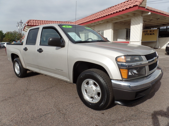 2005 Chevrolet Colorado 1SB LS Z85 - 1GCCS136358109736