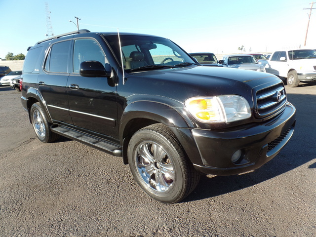 2004 Toyota Sequoia Limited - 5TDBT48A64S213445