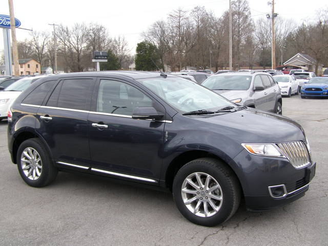 2013 Lincoln MKX BASE - 2LMDJ6JK8DBL47436