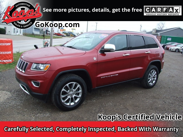 2014 Jeep Grand Cherokee Limited Sport Utility 4D 4WD - 1C4RJFBG8EC137887