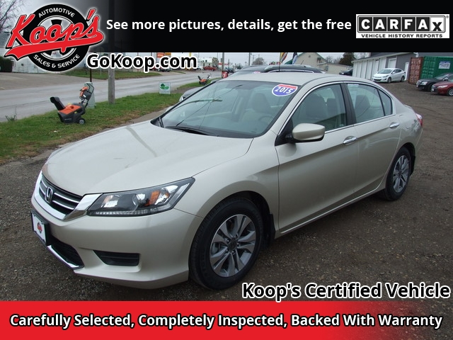 2015 Honda Accord Sedan LX Sedan 4D - 1HGCR2F35FA080156