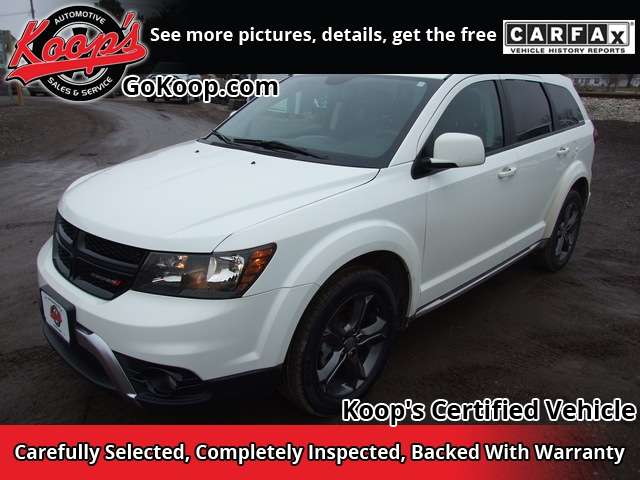 2015 Dodge Journey Crossroad Sport Utility 4D - 3C4PDCGB1FT679025
