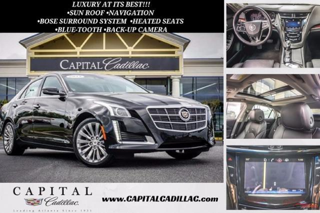 2014 Cadillac CTS Sedan Luxury AWD -