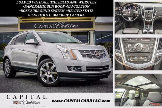 2012 Cadillac SRX Performance Collection -