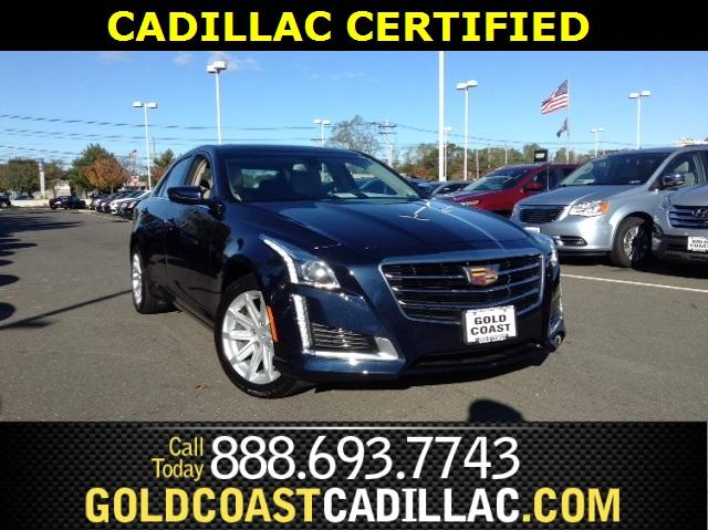 2016 Cadillac CTS Sedan 2.0L Turbo I4 AWD - 1G6AW5SX3G0103257