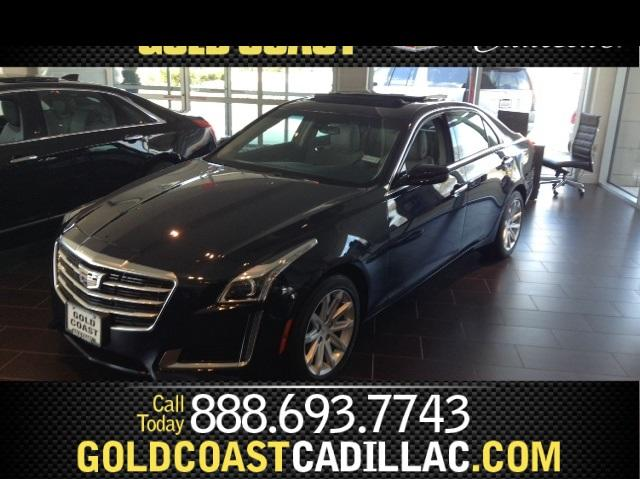 2016 Cadillac CTS Sedan 2.0L Turbo I4 AWD - 1G6AW5SX0G0195296