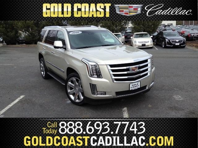 2016 Cadillac Escalade 4WD Luxury Collection - 1GYS4BKJXGR208580
