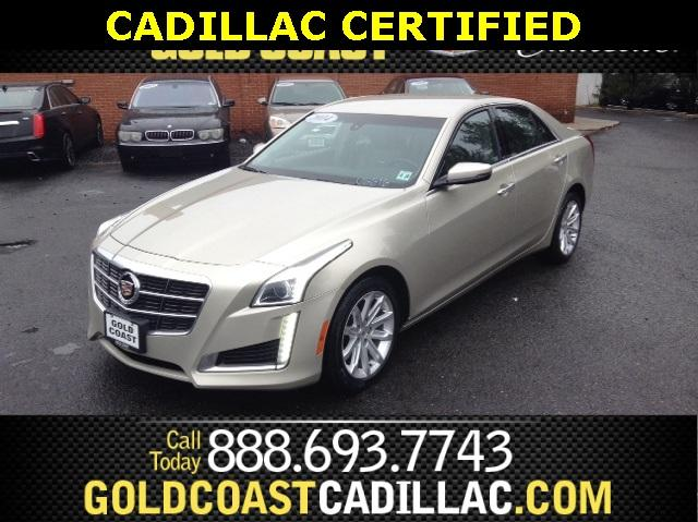 2014 Cadillac CTS Sedan 2.0L Turbo I4 AWD - 1G6AW5SX3E0194222