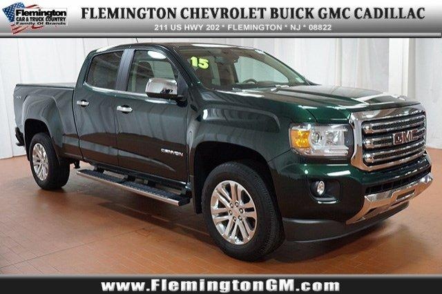 2015 GMC Canyon Crew Cab Short Box 4-Wheel Drive SLT - 1GTG6CE33F1132240
