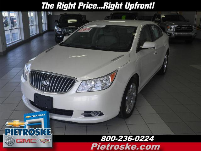 2013 Buick LaCrosse FWD Leather - 1G4GC5E33DF294451