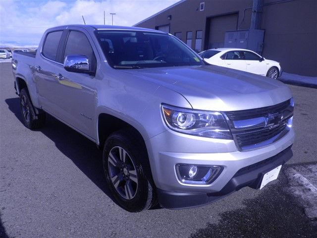 2016 Chevrolet Colorado Crew Cab Short Box 4-Wheel Drive LT - 1GCGTCE34G1247195